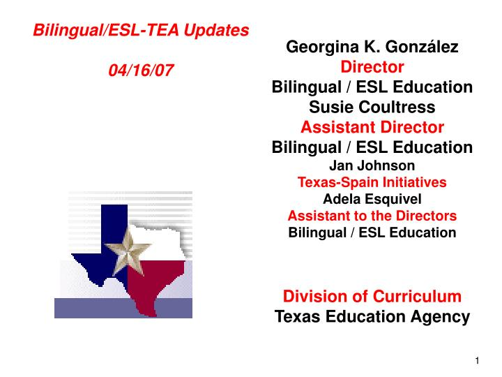 a look at the several issues in bilingual and esl education