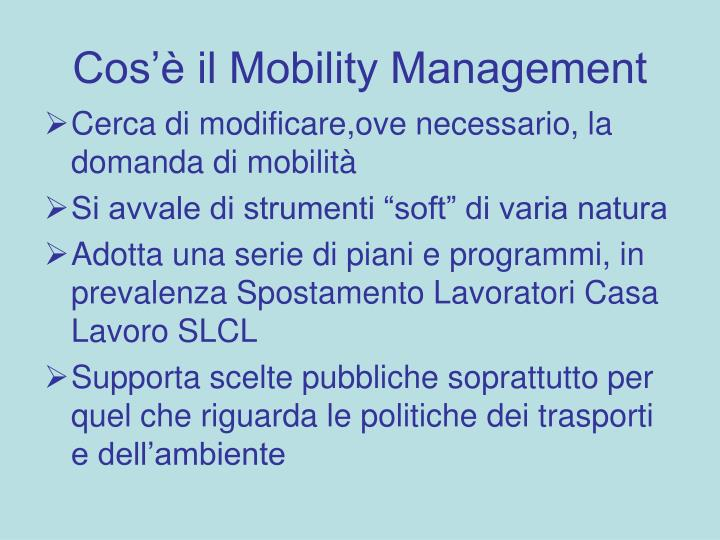 Cos il mobility management