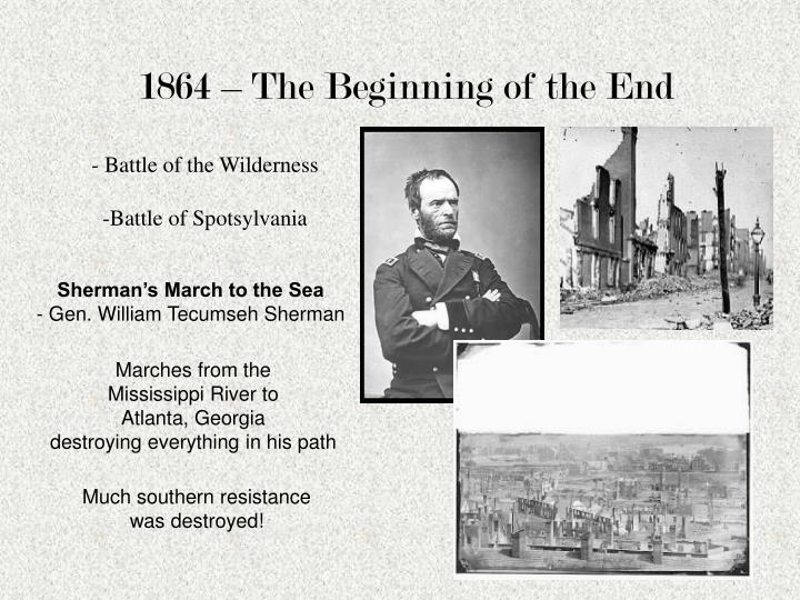 1864 – The Beginning of the End