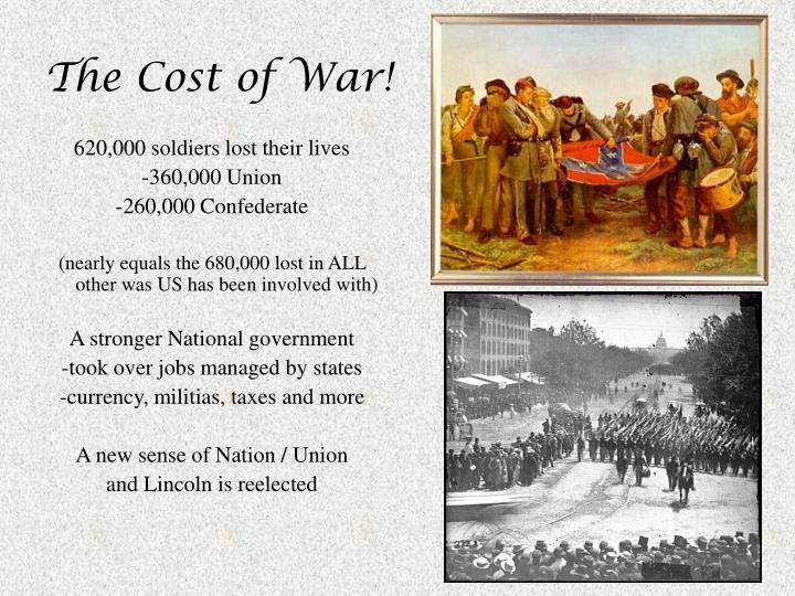 The Cost of War!