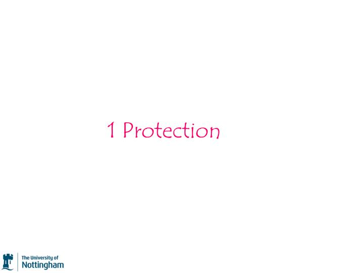 1 Protection