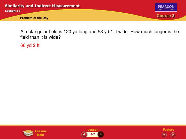 Similarity and Indirect Measurement