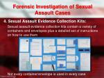 forensic investigation of sexual assault cases3