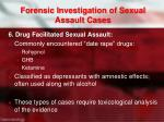 forensic investigation of sexual assault cases5