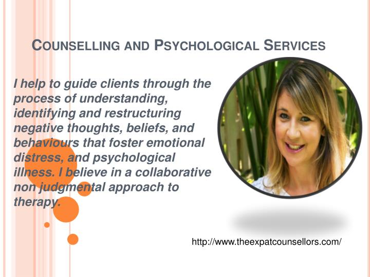 counselling and psychological services n.