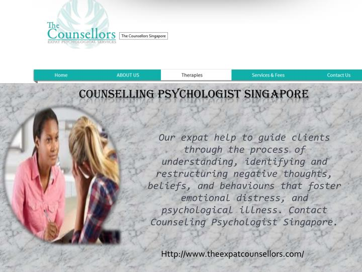 counselling psychologist singapore n.