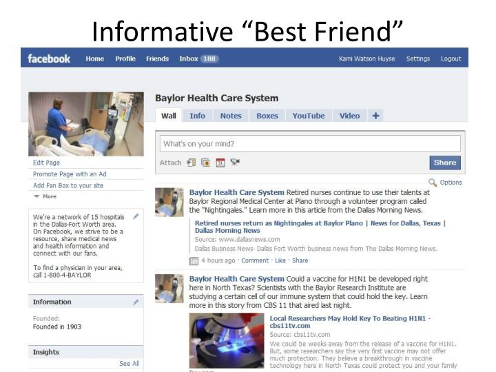 """Informative """"Best Friend"""""""