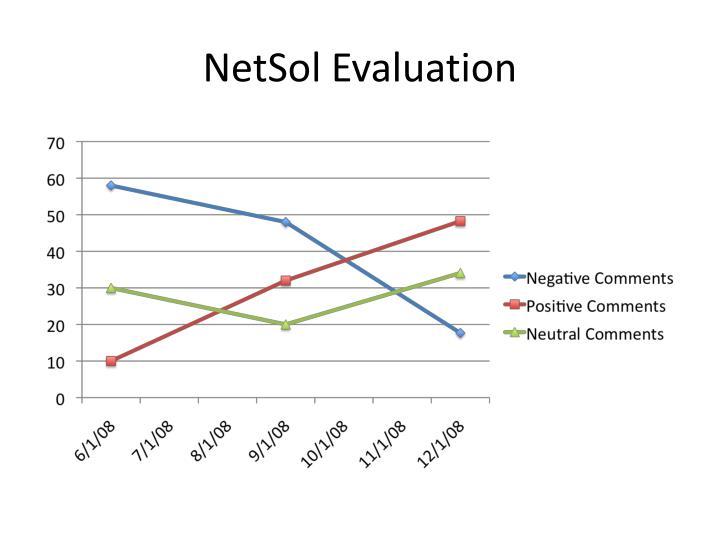 NetSol Evaluation