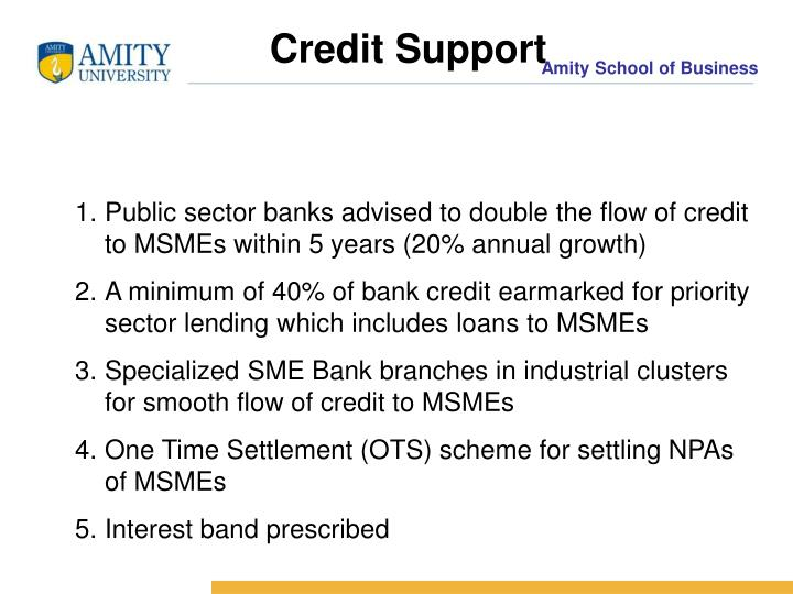 Credit Support