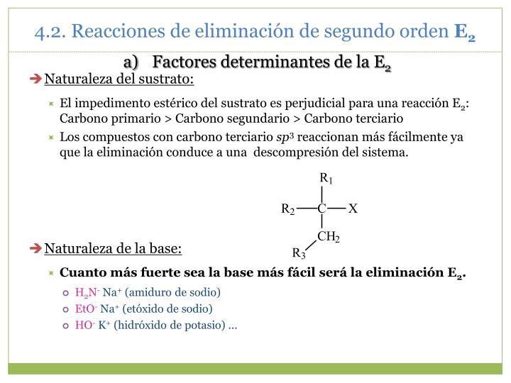 Factores determinantes de la E