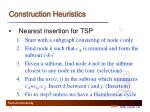 construction heuristics2