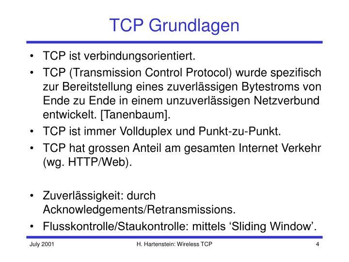 TCP Grundlagen