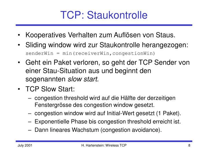 TCP: Staukontrolle