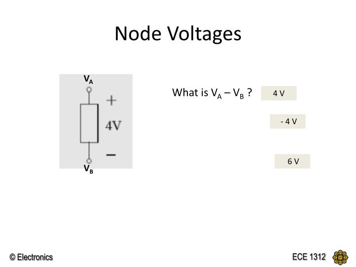 Node Voltages