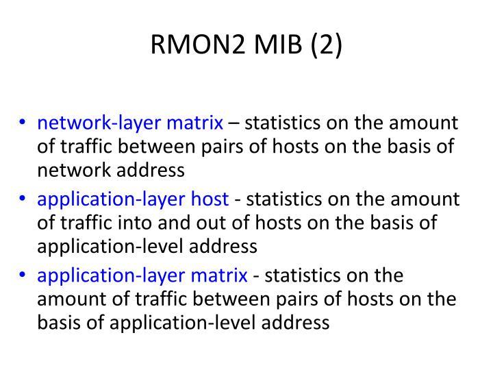 RMON2 MIB (2)