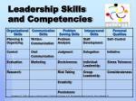 leadership skills and competencies