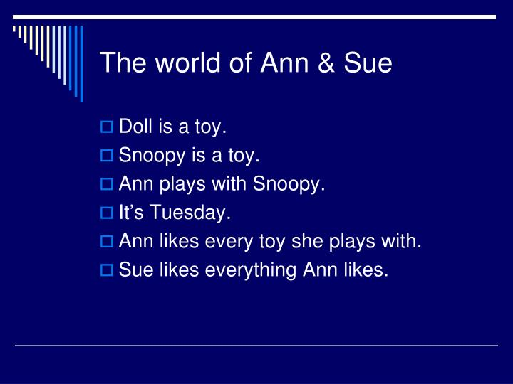 The world of Ann & Sue