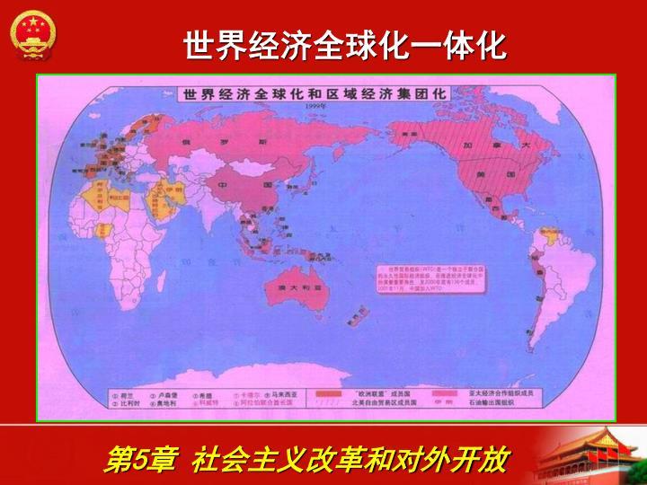 世界经济全球化一体化