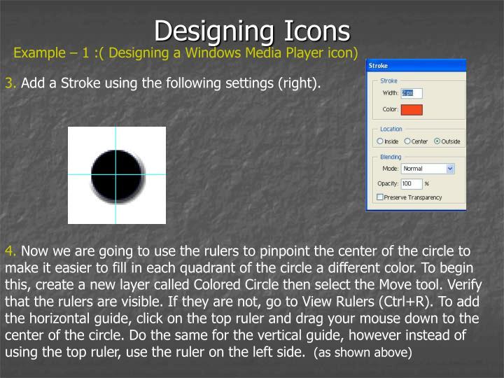 Designing Icons