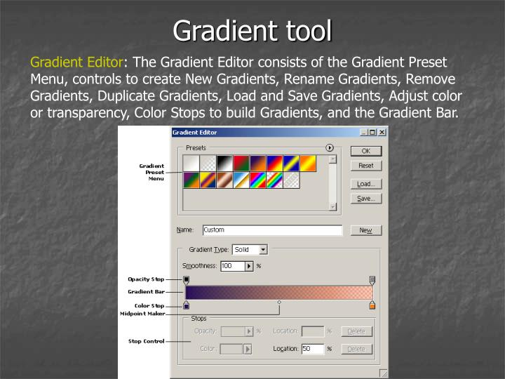 Gradient tool1