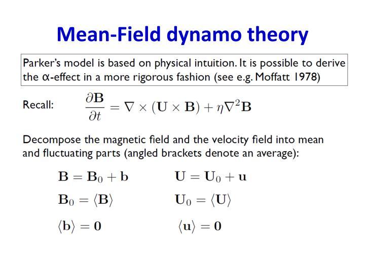 Mean-Field dynamo theory