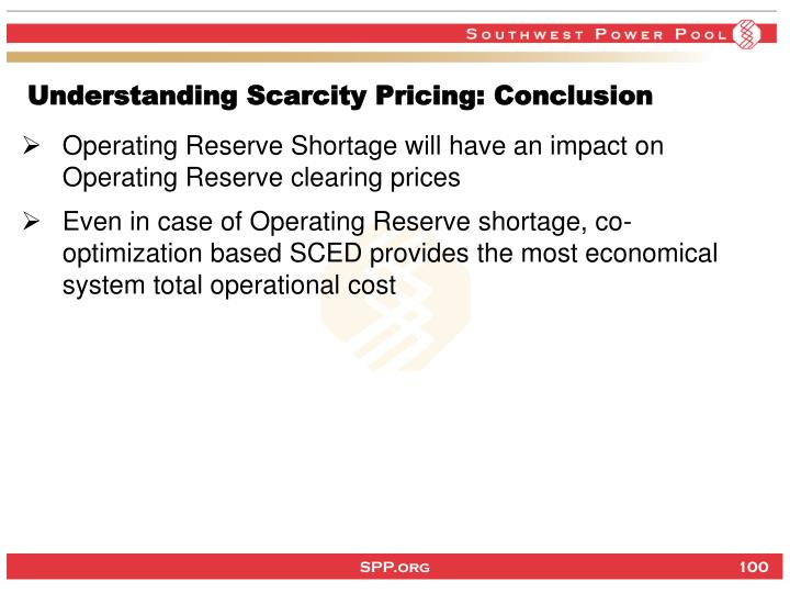 Understanding Scarcity Pricing: Conclusion