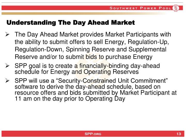 Understanding The Day Ahead Market