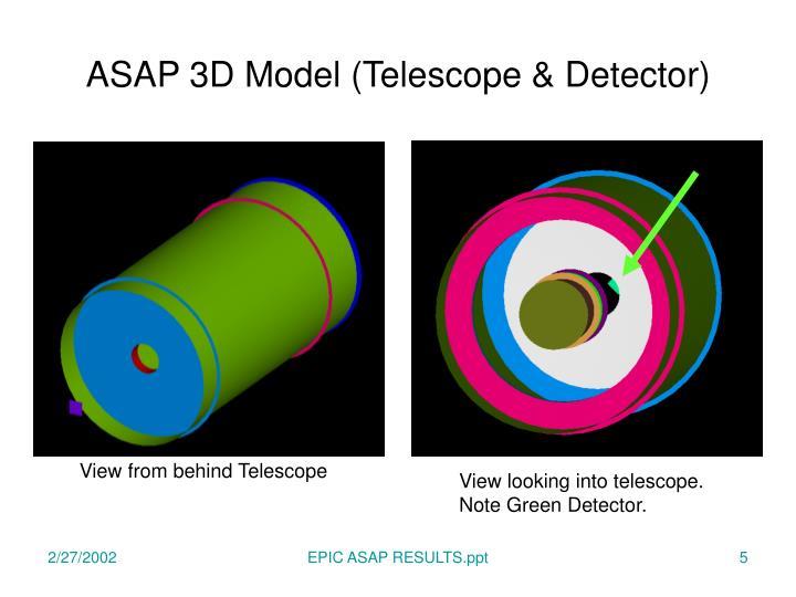ASAP 3D Model (Telescope & Detector)