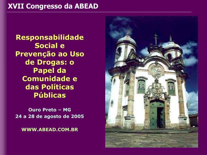 XVII Congresso da ABEAD