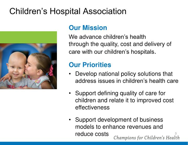 Children s hospital association