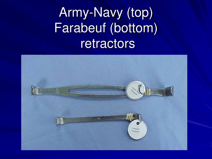 Army-Navy (top)