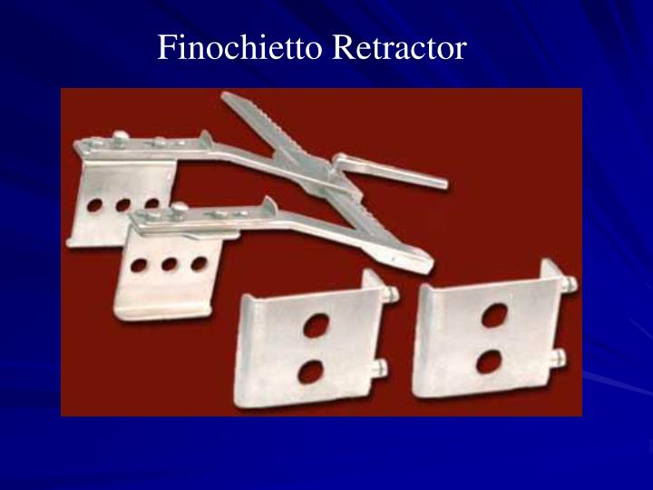 Finochietto Retractor