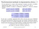 trasformazioni mediante la trigonometria sferica 3