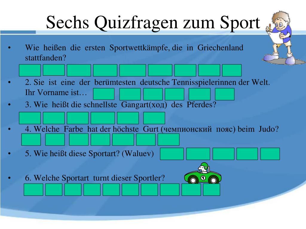 Sport Quizfragen