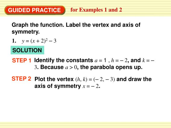 for Examples 1 and 2