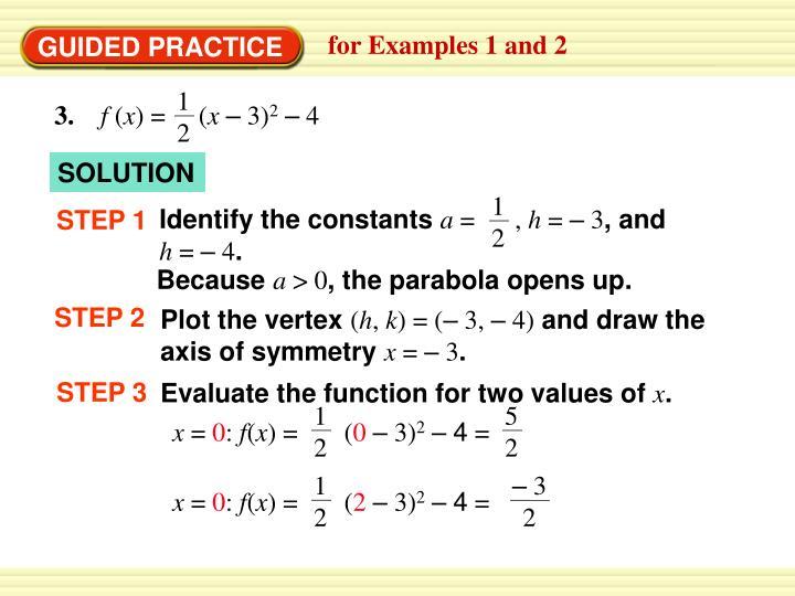 Identify the constants