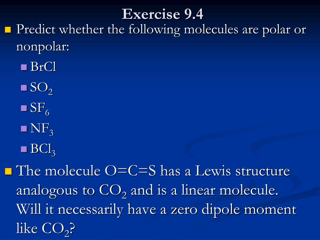 Ppt Chapter 9 Molecular Geometry And Bonding Theories Powerpoint Presentation Id 6460865