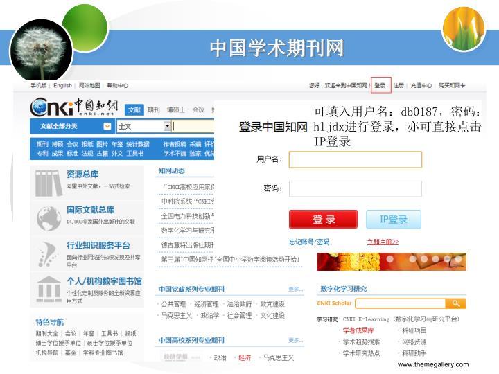 中国学术期刊网