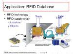 application rfid database