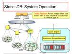 stonesdb system operation1