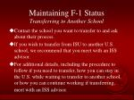 maintaining f 1 status transferring to another school