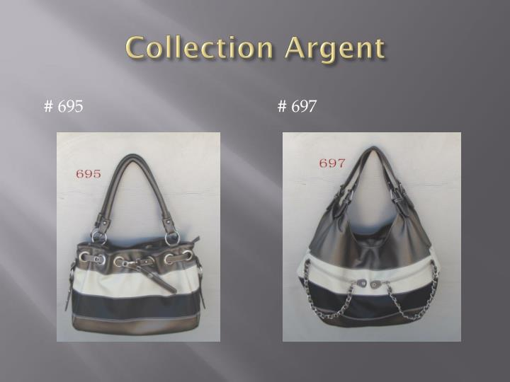 Collection argent1