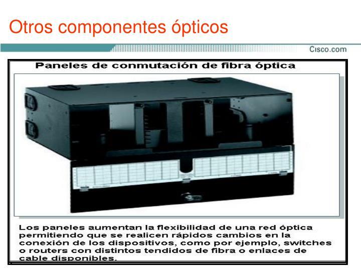 Otros componentes ópticos