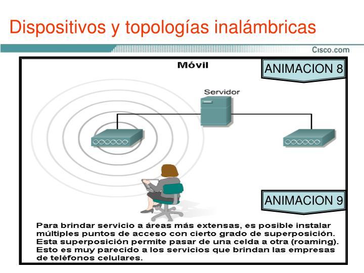 Dispositivos y topologías inalámbricas