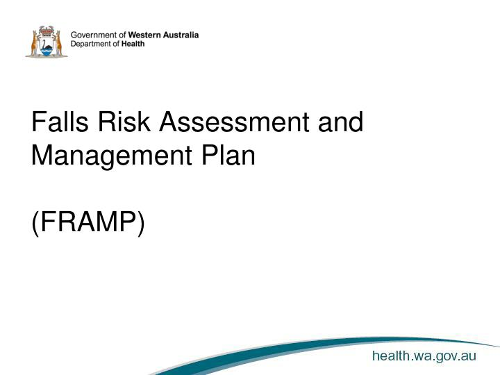 Ppt Falls Risk Assessment And Management Plan Framp Powerpoint Presentation Id 6463461 The assessment and plan (abbreviated a/p or a&p) is a component of an admission note. ppt falls risk assessment and