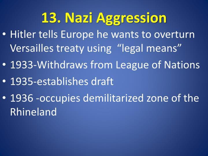 13. Nazi Aggression