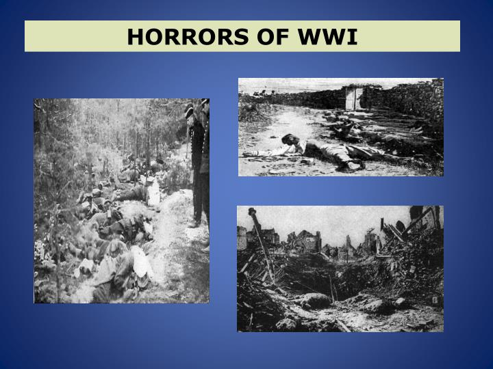 HORRORS OF WWI