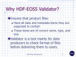 why hdf eos5 validator