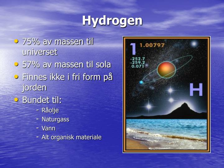 Hydrogen1