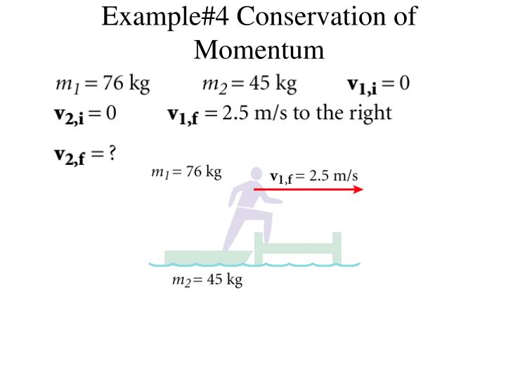 Example#4 Conservation of Momentum
